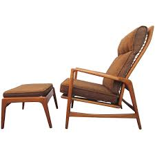 danish midcentury modern lounge chair and ottoman ib kofod