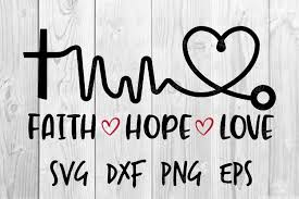 From wikimedia commons, the free media repository. Faith Hope Love Svg 570678 Printables Design Bundles