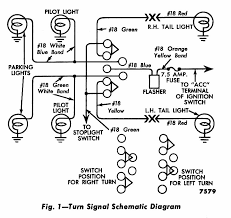 turn signal light wiring diagram wiring tail lights and turn signals wiring image technical 59 f100 wiring problem the h a m b on wiring diagram for turn signal flasher