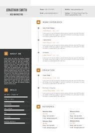 Download Premium Elegant Resume Cv Template Microsoft Word Myenvoc