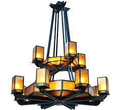 avondale 20 8 light extra large arts and craft chandelier