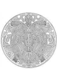 Kleurplaat Mandala 1802c Afb 4545 Mandala Kleurplaat Van Dieren