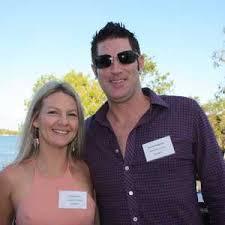 Petra Benson and Brenden Muggleton of Treasury Wines. | Buy Photos Online |  Sunshine Coast Daily