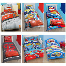 Lightning Mcqueen Bedroom Furniture Disney Cars Lightning Mcqueen Bedding Single Double Amp Junior