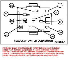 1989 ford steering column wiring diagram ford steering gearbox how to check if headlight switch is bad at 1994 Ford F150 Headlight Switch Wiring Diagram