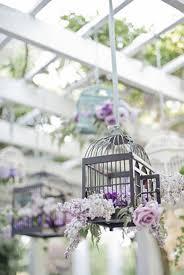 Decorating: Lavender Hanging Birdcages - Floawer Bird Cages