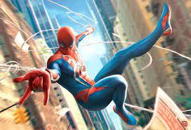 Wallpaper 4k Spiderman In Fly spiderman ...