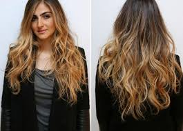 Photo Coiffure Femme Chatain Clair Meche Blonde Coiffure
