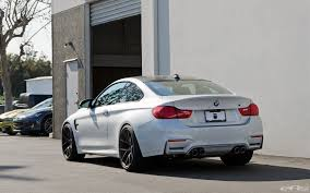 All BMW Models bmw 1 series mineral white : Mineral White BMW M4 With HRE Wheels