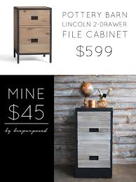pottery barn file cabinet. Pottery Barn Knock-Off File Cabinet O
