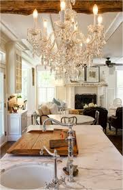 Kitchen Chandelier Kitchen Chandeliers How Stain Dining Room Table French Country