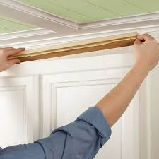 attach mounting boards to cabinet top provide a nailing surface for crown moulding
