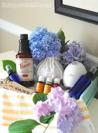 essential oils housewarming gift basket ideas