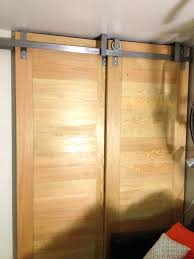 wall mount sliding door hardware interior hanging doors ceiling mounted bypass by handcrafted and designed in