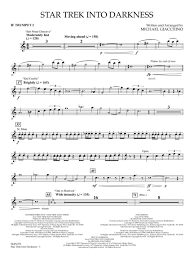 Inner Light Star Trek Sheet Music Star Trek Into Darkness Score And Parts Michael Giacchino 4491278