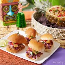 I thought about some of the birthday parties we've been to recently, which are usually for slightly older. 6 Easy Finger Foods For Your Tiki Party Party City