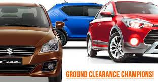 15 Hatchbacks Sedans With Suv Like Ground Clearance