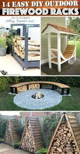 outdoor wood storage rack easy outdoor firewood racks to keep those logs perfectly firewood storage rack