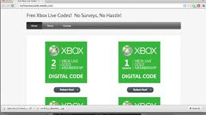 free xbox live codes no surveys required