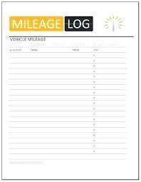car mile tracker vehicle mileage log template for ms excel templates free