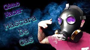 una mascara de gas gas mask tutorial