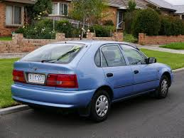 File:1997 Toyota Corolla (AE101R) Advantage Seca 5-door hatchback ...
