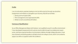high profile resume samples skills profile resume examples inspirational sample resume profile