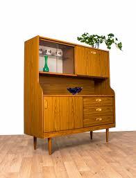 teak retro furniture. Schreiber Display Cabinet Sideboard Highboard Teak Retro Drinks - £125 Furniture