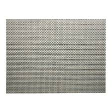 chilewich  basketweave aluminium placemat  peter's of kensington