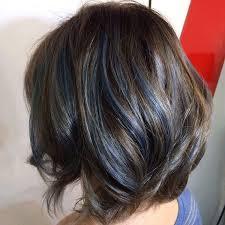 Subtle Blue Highlights 25 Black And Blue Hair Color Ideas January 2019