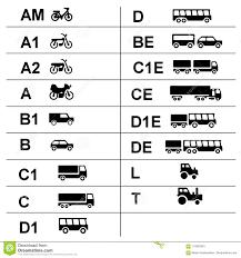 Stock 115825343 Public - Illustration Symbols Licenses Of Driver's Illustration