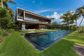 Pool Design Miami A Luxury Miami Beach Home With Pools Natural Lagoons And A