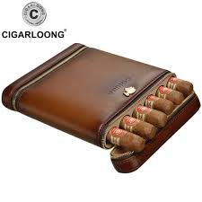 presyo ng cohiba new design cigar travel case mini humidor holds 6 cigars made by pu