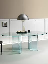 glass dining table sahara fiam glass