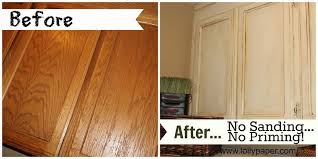 how to stain kitchen cabinets without sanding best of how to paint oak cabinets without sanding