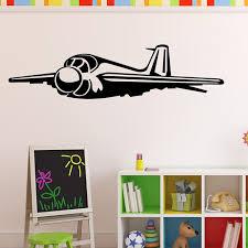 er plane wall sticker raf army airplane wall decal boys bedroom home decor