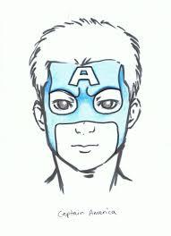 superhero face painting designs