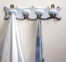 Kitchen Towel Hooks Antique French Enamel Kitchen Tea Towel Hooks C