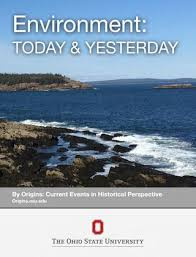 Environment Today Yesterday By Department Of History At
