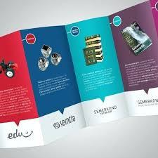 Quad Fold Brochure Template Word Quad Fold Brochure Size New Fold Brochure Vectors S And