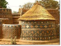 Image result for village of conical mud huts in kaduna