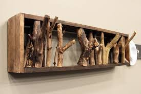 How To Make A Coat Rack Tree cuiere rustice din lemn Rustic wood coat racks Ideas for the House 25