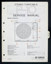 yamaha p 10 original stereo turntable turntable service manual image is loading yamaha p 10 original stereo turntable turntable service