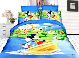 baby boy bedding sets south africa toddler blue cartoon mickey mouse boat print bed linens home