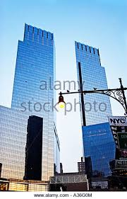 aol corporate office. time warner building new york city stock image aol corporate office