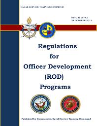Regulations For Officer Development