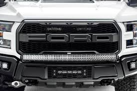 2018 Raptor Light Bar 2017 2019 Ford F 150 Raptor Front Bumper Top Led Bracket To Mount 1 40 Inch Curved Led Light Bar Pn Z325662