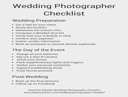 Wedding Photography Checklist Template Template Wedding Photography Schedule Template Shot