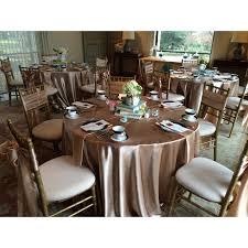 satin wedding table cloth