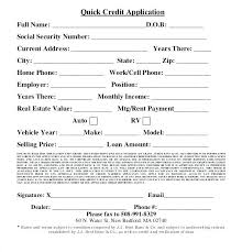 Credit Account Application Template Uk Form Buildingcontractor Co